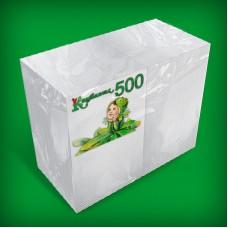 Салфетки белые 25Х23 1-слой «Барные» 500 шт
