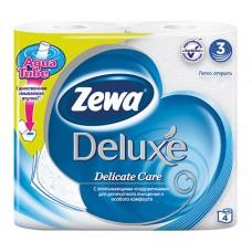 Туалетная бумага Zewa Deluxe Белая