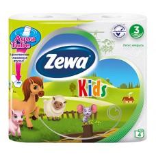 Туалетная бумага Zewa kids