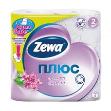 Туалетная бумага Zewa Плюс Сирень