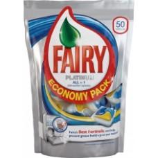 FAIRY Platinum All in 1 Засоби д/миття посуду в капсулах для автоматических посудомийних машин 50шт 50шт