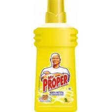 MR PROPER Рідк. миюч. засіб для прибирання пiдлоги та стiн Лимон 500мл 500мл